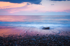 Stone στο νερό Στοκ Εικόνες