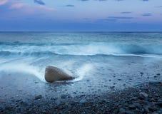 Stone στο νερό Στοκ εικόνα με δικαίωμα ελεύθερης χρήσης