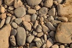 Stone της διαφορετικής σύστασης υποβάθρου μορφής και μεγέθους Στοκ φωτογραφία με δικαίωμα ελεύθερης χρήσης