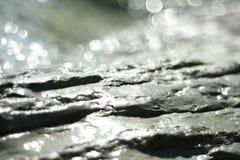 Stone. And light, abstract image (Croatia Islan Pag Stock Photography