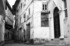 stone 2 miasto Zanzibaru avenue Obrazy Stock