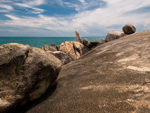 Stone. Hin Ta - Hin Yai at Koh Samui, Thailand Royalty Free Stock Photos