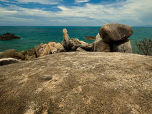Stone. Hin Ta - Hin Yai at kho Samui, Thailand Stock Photo