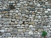 Stone. Wall on Roman castle Stock Photos