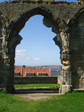Stone Abbey Arch Stock Images