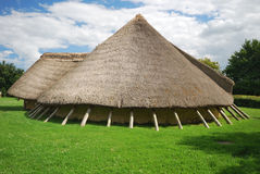 Stone age house Stock Image
