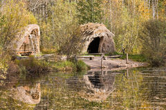 Stone Age hut Royalty Free Stock Image