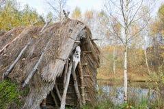 Stone Age hut Royalty Free Stock Photography