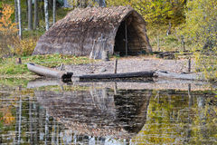 Stone Age hut Stock Images