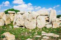 Stone age remnants Stock Photo
