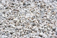 Stone Aggregate. Image of a granite stone aggregate for road construction Royalty Free Stock Photography