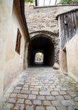 Stone alleyway Royalty Free Stock Photo