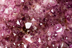 Stone amethyst Stock Images