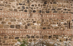 Stone ancient church wall Stock Images