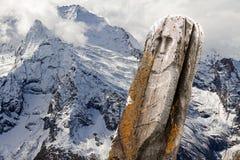 Stone ancient idol mountains Royalty Free Stock Photo