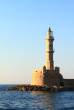 Stone ancient lighthouse closeup Stock Images