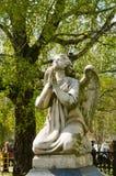 Stone angel Stock Image