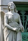 Stone Angel Guardian Statue Royalty Free Stock Photo