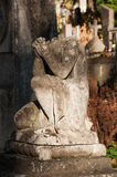 Stone angel without head Royalty Free Stock Image