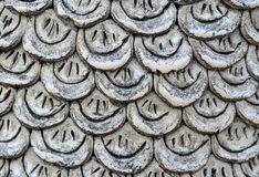 Stone animal's scale pattern Royalty Free Stock Image