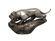 Stone animal sculpture Royalty Free Stock Image