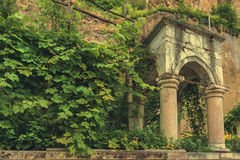 Stone arbour 1 royalty free stock photography