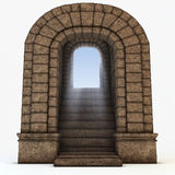 Stone arc Royalty Free Stock Images