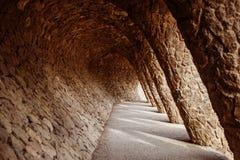 Stone arcade ell ¼ πάρκων GÃ Στοκ Εικόνες
