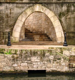 Stone arch Royalty Free Stock Images