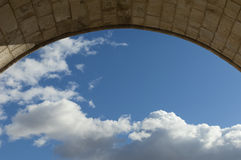 Stone arch Stock Photography
