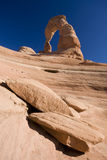 Delicate Arch in Arches National Park Royalty Free Stock Photo