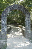 Stone Arch Associated with Appalachian Trail Royalty Free Stock Images