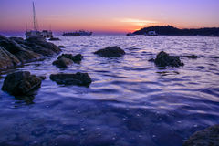 Stone arch with beautiful beach. At  Koh Lipe, Thailand Royalty Free Stock Image