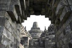Stone Arch Borobudur Temple Architecture Java Indonesia Stock Photo