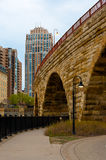 Stone Arch Bridge Royalty Free Stock Photo