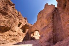 Stone Arch Bridge. Beautiful natural stone arch bridge at Death Valley National Park California Royalty Free Stock Image