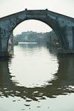 Stone arch bridge in China Royalty Free Stock Photo
