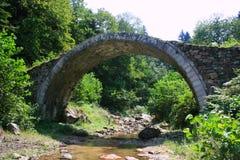 Stone Arch Bridge. Old Stone Arch Bridge in Trabzon,Turkey Royalty Free Stock Photo
