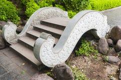 Stone  Arch bridge Royalty Free Stock Images