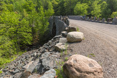 Stone Arch Bridge Road Royalty Free Stock Photography
