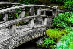 Stone arch bridge royalty free stock photos