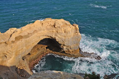 Stone arch. Famous rock formations. Great Ocean Ro Royalty Free Stock Images
