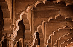 Stone arch. India, Delhi Stock Photography