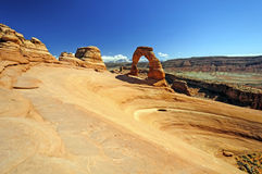 Stone Arch in Red Rock Country Royalty Free Stock Photo