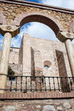 Stone arch in spain Royalty Free Stock Photos