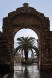 Stone Arch Taormina Sicily Italy Stock Photos