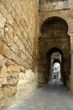 Stone arches in Carmona, Spain Royalty Free Stock Photos