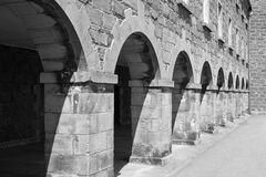Stone arches Stock Image