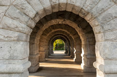 Stone arches Stock Photo