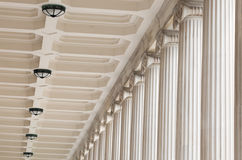 Stone architectural Columns Stock Photos
